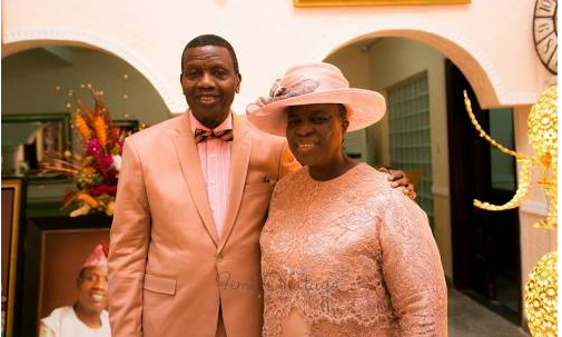 Adeboye and wife